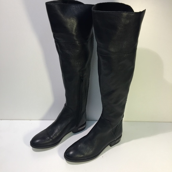 72a186aeb4ba Vince Camuto OTK over the knee Pedra Boot Leather.  M 5a37762333162769130402ca